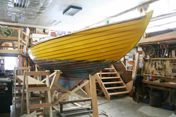 Inga is a 1969 Scandinavian Nordic Folk Boat